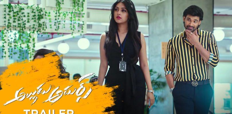 Alludu Adhurs Movie Trailer | Bellamkonda Sreenivas | Nabha Natesh | DSP