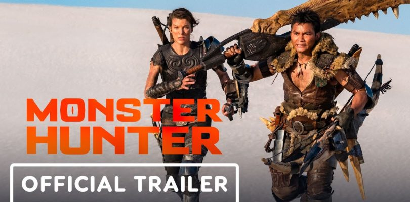 Monster Hunter - Official Movie Trailer (2020) Milla Jovovich, Tony Jaa