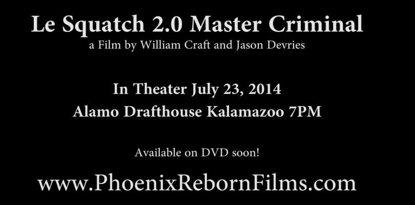DVD Le Squatch: Master Criminal