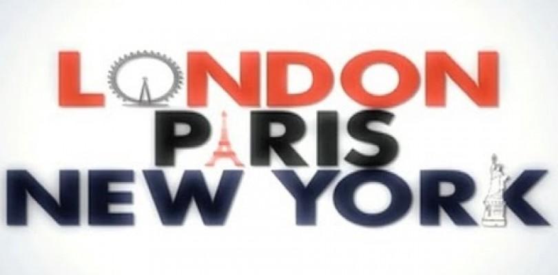 DVD London Paris New York