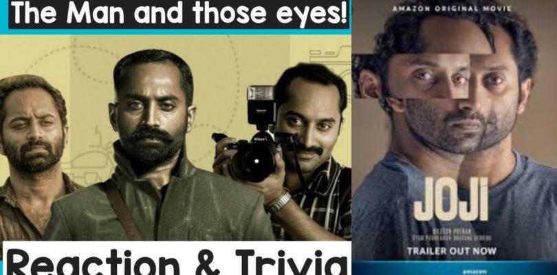 Joji Malayalam Movie Trailer | Reaction & Trivia | Dileesh Pothan| Fahad Fassil | Amazon Prime