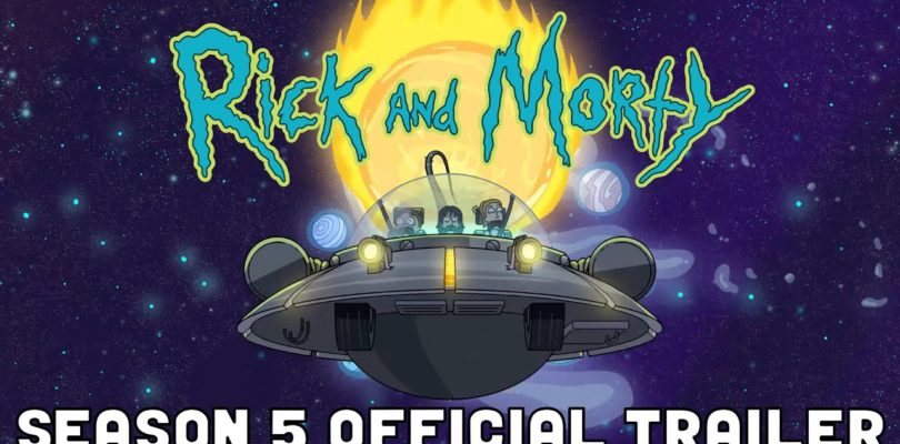 OFFICIAL TRAILER #1: Rick and Morty Season 5 | adult swim