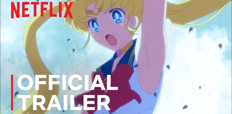Pretty Guardian Sailor Moon Eternal The Movie   Official Trailer   Netflix