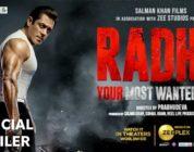 Radhe Official Trailer, Salman Khan, Disha Patani, Prabhu Deva,Salman Khan radhe Trailer, #Radhe
