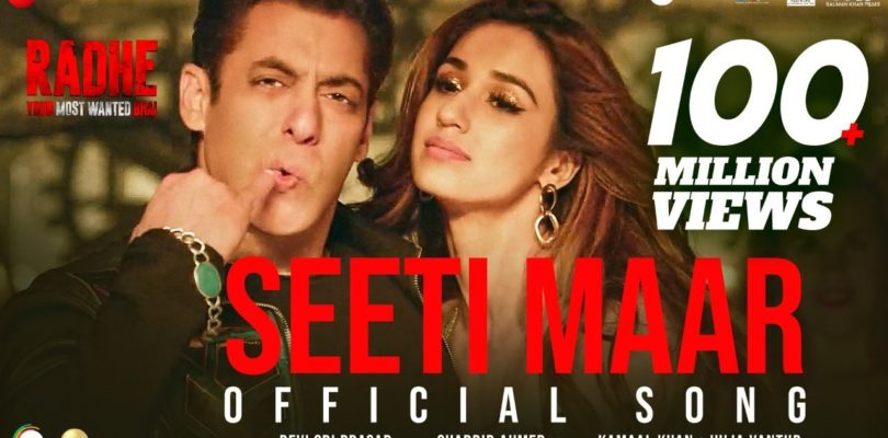Seeti Maar   Radhe - Your Most Wanted Bhai   Salman Khan, Disha Patani Kamaal K, Iulia V DSP Shabbir
