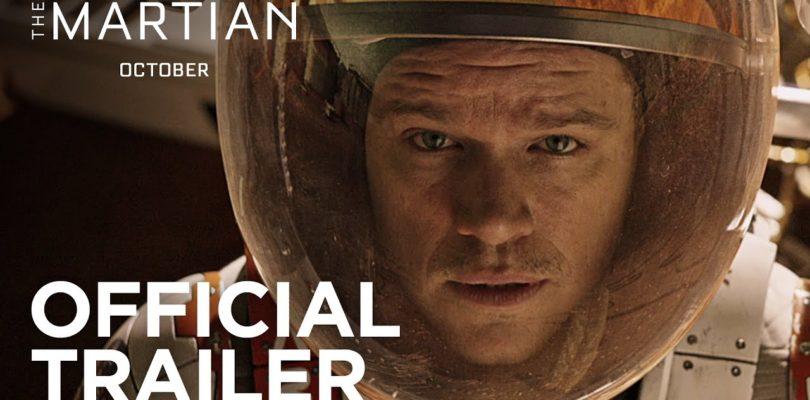 The Martian | Official Trailer [HD] | 20th Century FOX