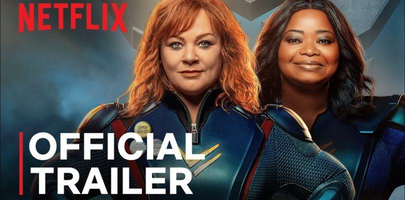 Thunder Force   Melissa McCarthy and Octavia Spencer   Official Trailer   Netflix